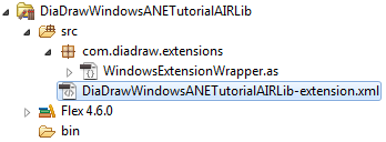 Extension descriptor for Windows