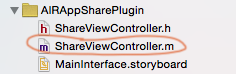 share plugin project structure